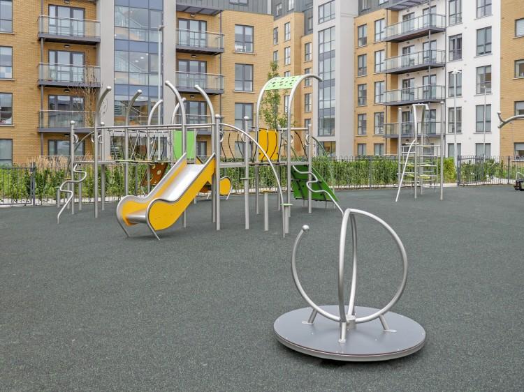 Playground Equipment Product DOMETO 4-1 Inter Play