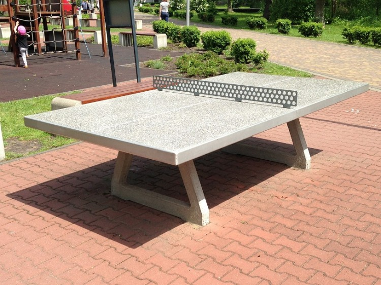 Playground Equipment Product‎ Concrete tennis table Inter Play