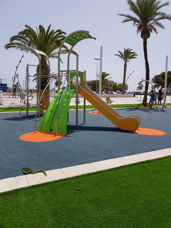 Playground Equipment Product DOMO 2-2 Inter Play