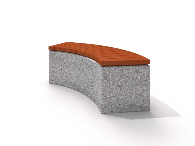 Concrete bench 02 PLAYGROUNDS