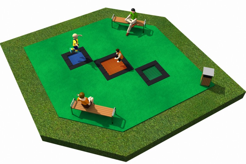 Playground Equipment for sale  Trampolines  Layout 20 Professional manufacturer