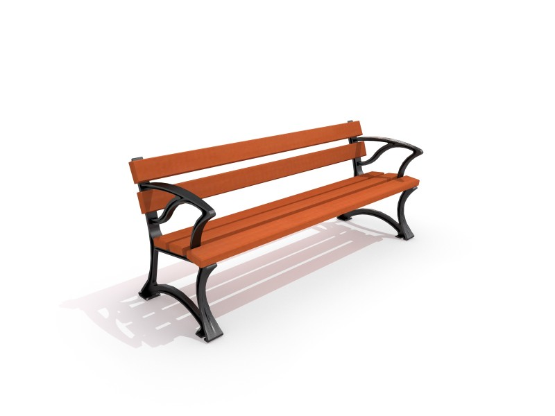 Playground Equipment for sale DECO concrete bench 14 Professional manufacturer
