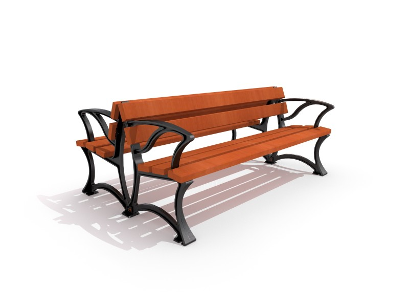 Cast-iron bench 01 PLAYGROUNDS