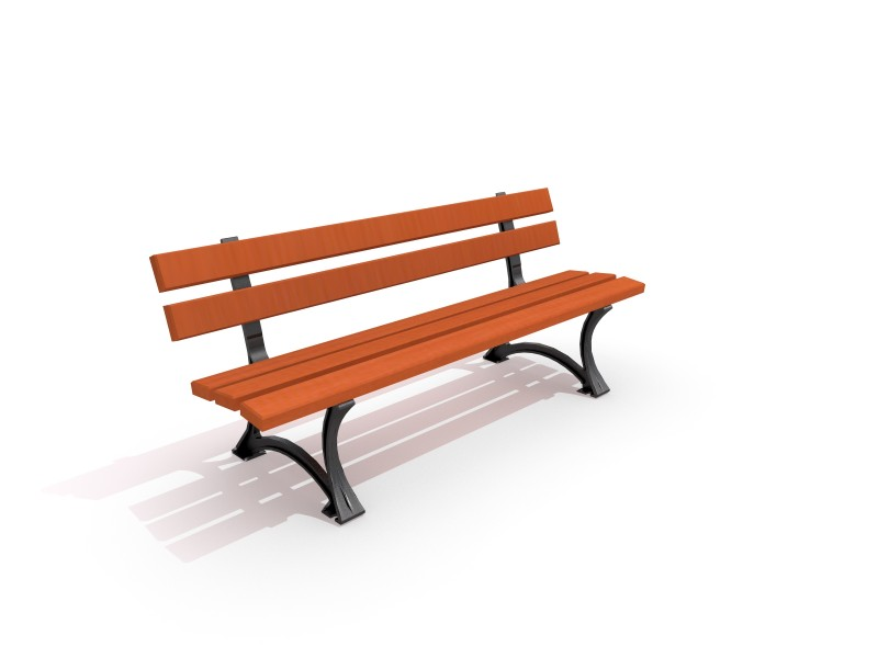 Playground Equipment for sale Cast-iron bench 02 Professional manufacturer