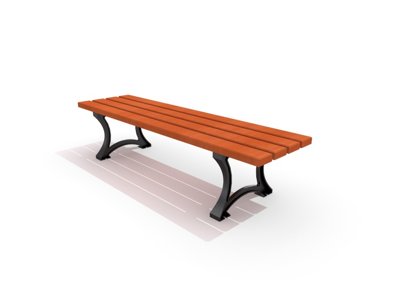 Playground Equipment for sale Cast-iron bench 04 Professional manufacturer