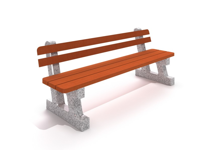 Steel bench 10 PLAYGROUNDS