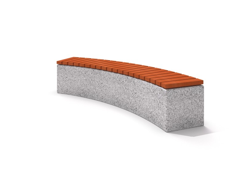 Playground Equipment for sale Concrete bench 06 Professional manufacturer