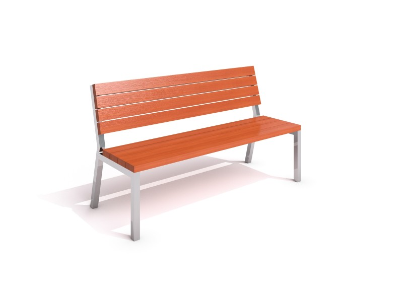Stainless steel bench 18 PLAYGROUNDS