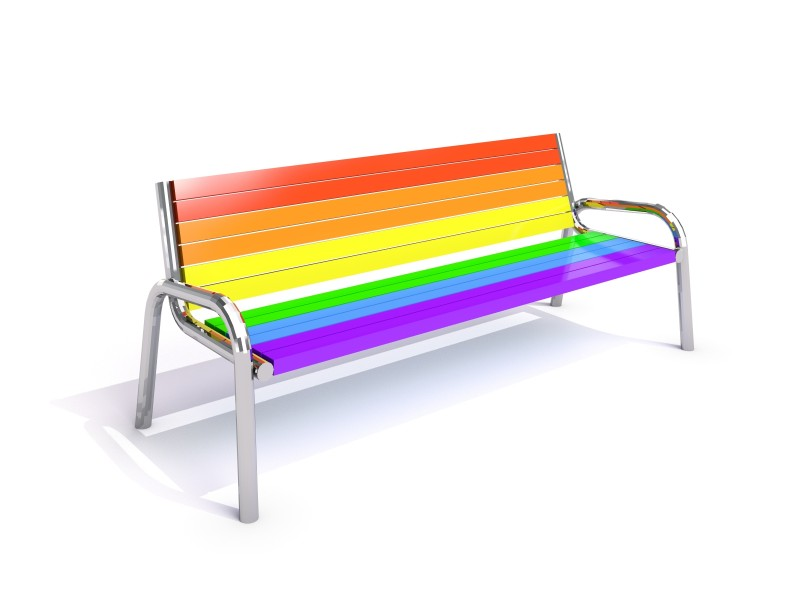 Stainless steel bench 12 PLAYGROUNDS