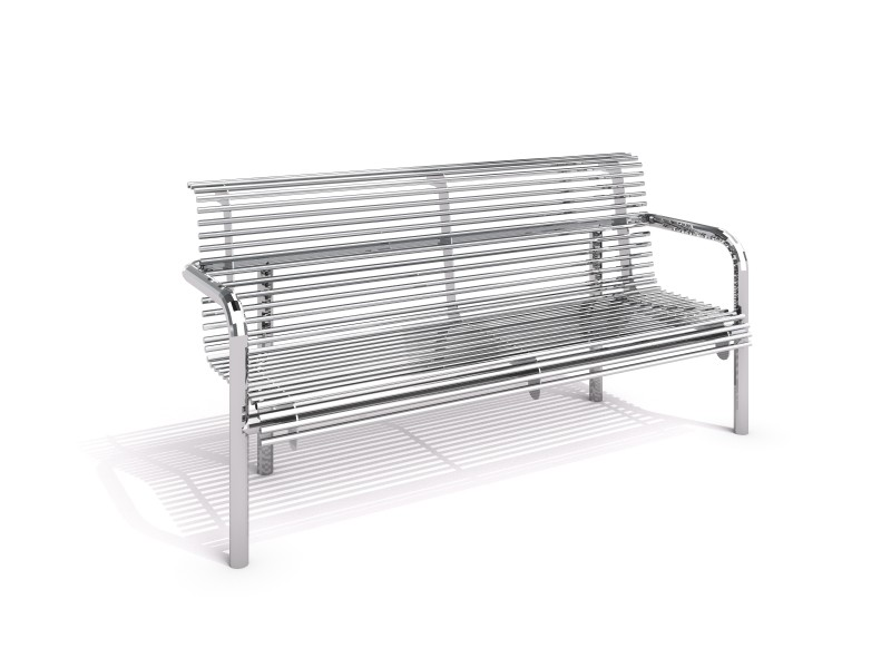 Stainless steel bench 14 PLAYGROUNDS