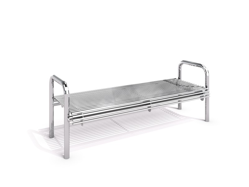 Stainless steel bench 16 PLAYGROUNDS