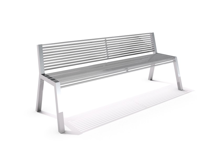 Stainless steel bench 17 PLAYGROUNDS