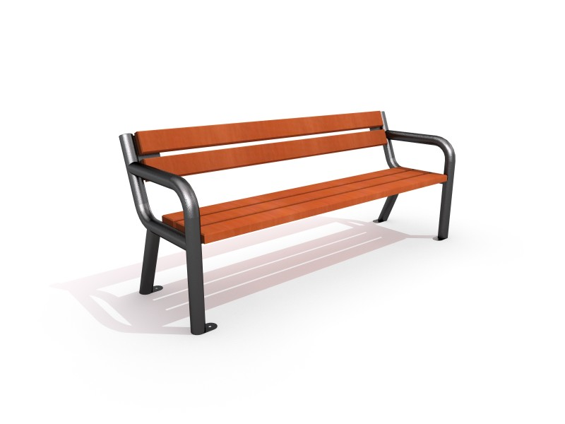 Playground Equipment for sale Cast-iron bench 05 Professional manufacturer