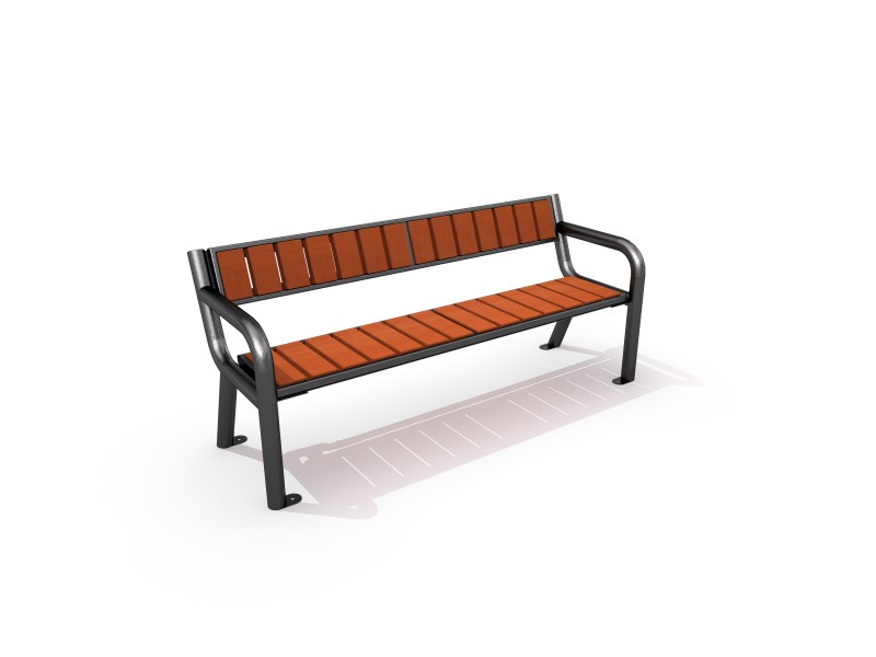 Playground Equipment for sale Steel bench 01 Professional manufacturer
