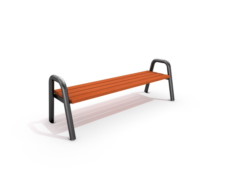 Steel bench 05 PLAYGROUNDS