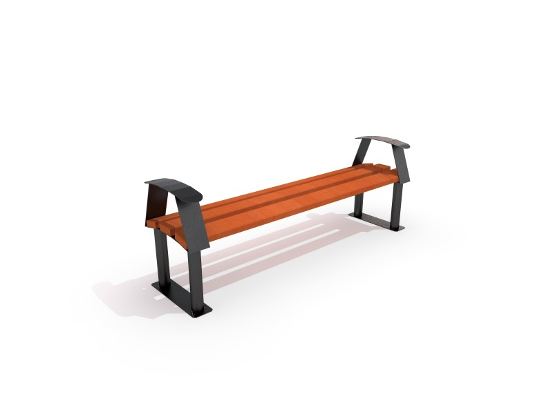 Playground Equipment for sale Steel bench 08 Professional manufacturer