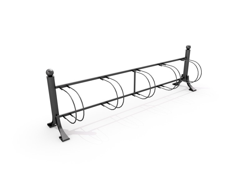 Steel bicycle rack 01   PLAYGROUNDS