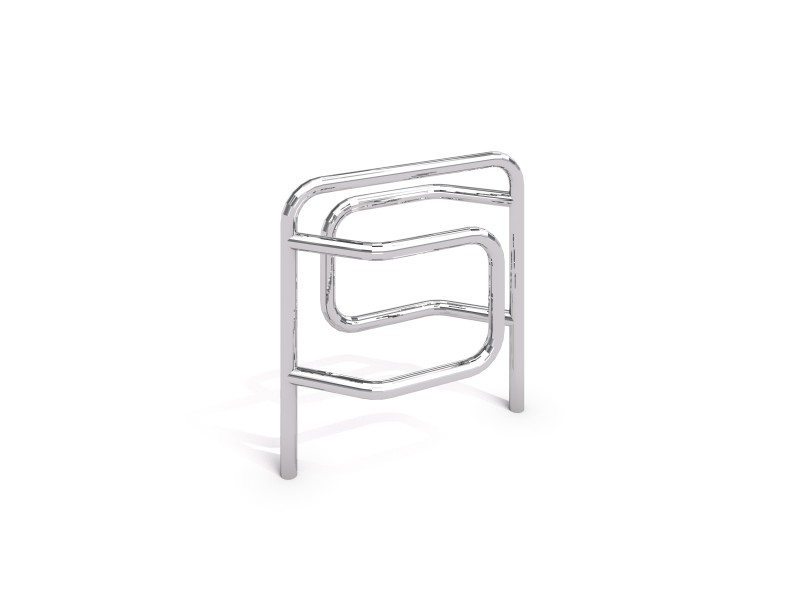 stainless steel bicycle rack 08 PLAYGROUNDS