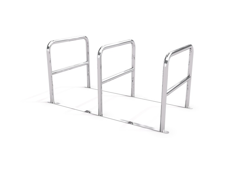 stainless steel bicycle rack 04 PLAYGROUNDS