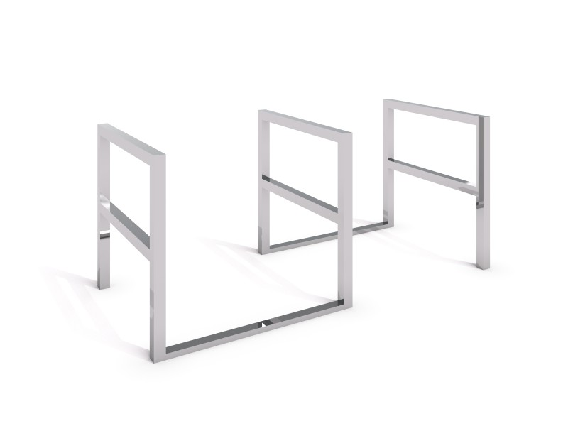 stainless steel bicycle rack 05 PLAYGROUNDS