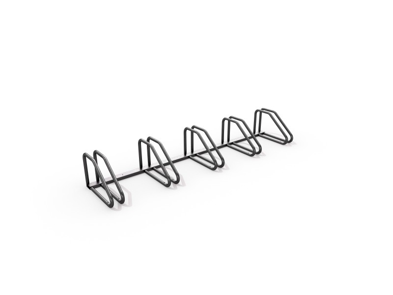 Steel bicycle rack 02 PLAYGROUNDS