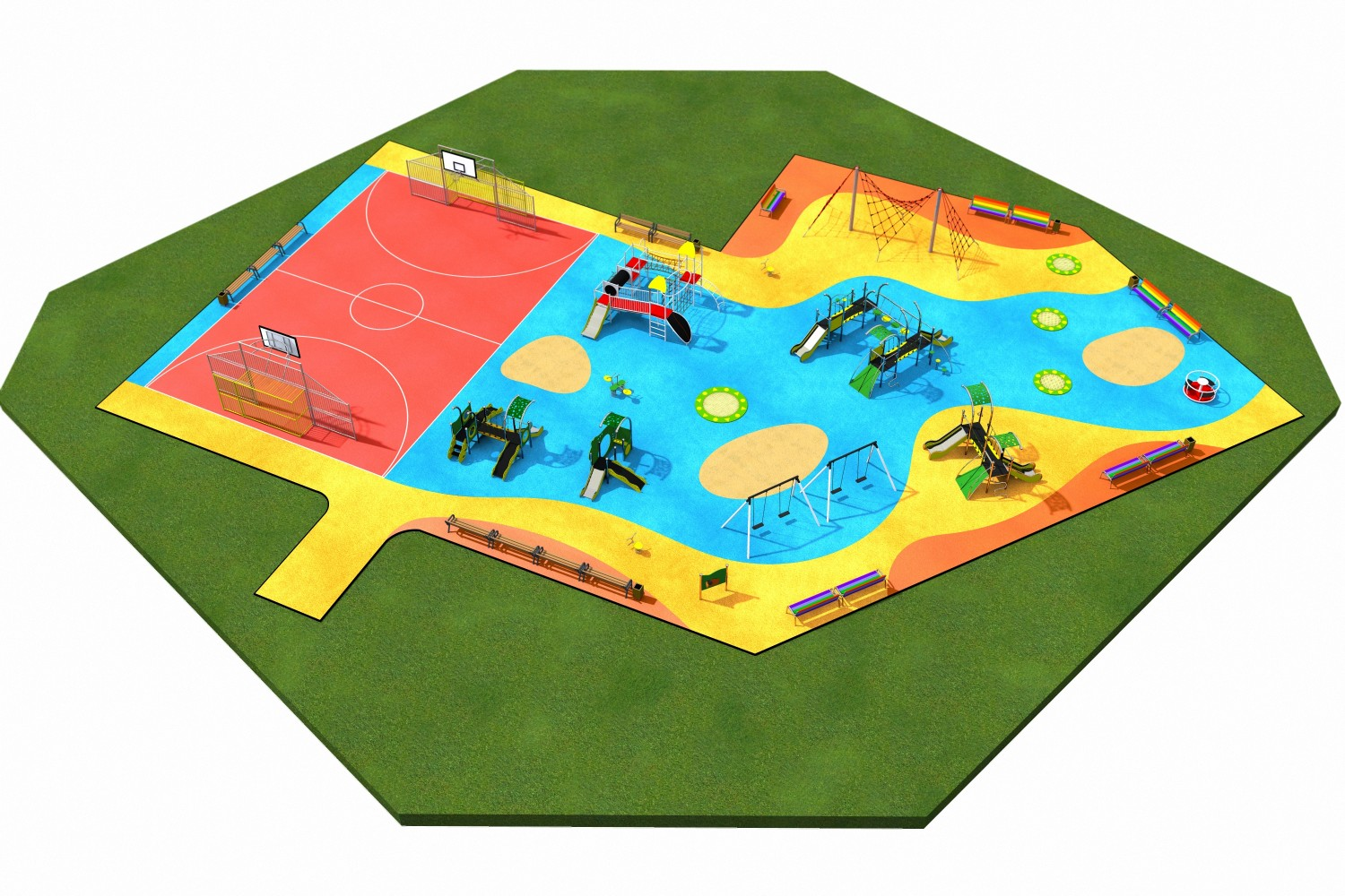 Exemplary projects for playground and fitness area Inter Play Blog