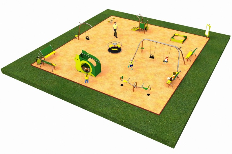 Inter Play Playground LIMAKO for toddlers layout 5