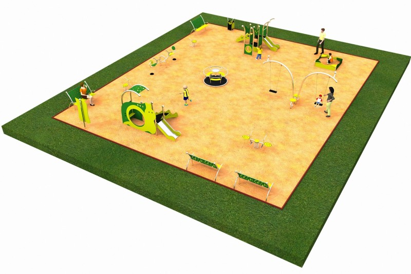Inter Play Playground LIMAKO for toddlers layout 6