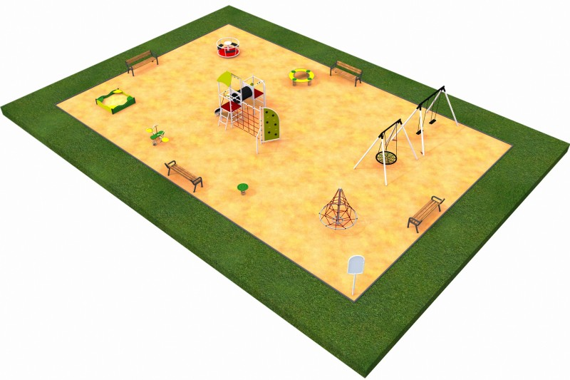 Playground Equipment for sale PARK 10 Professional manufacturer