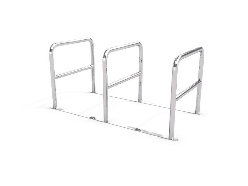 KOPIA - stainless steel bicycle rack 05