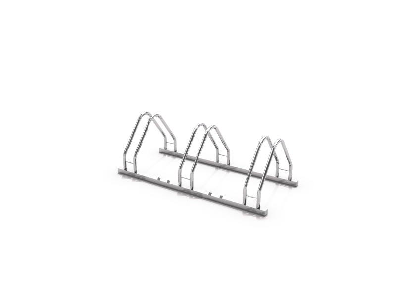 Steel bicycle rack 17