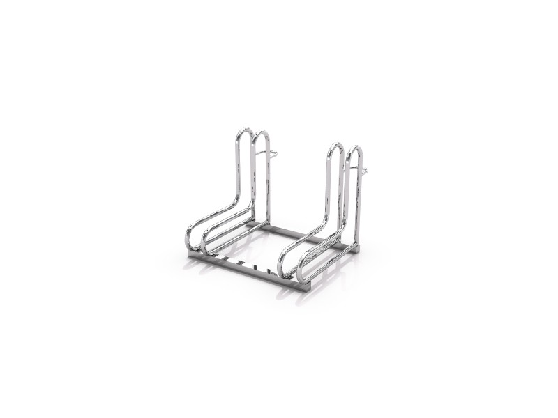 Steel bicycle rack 18