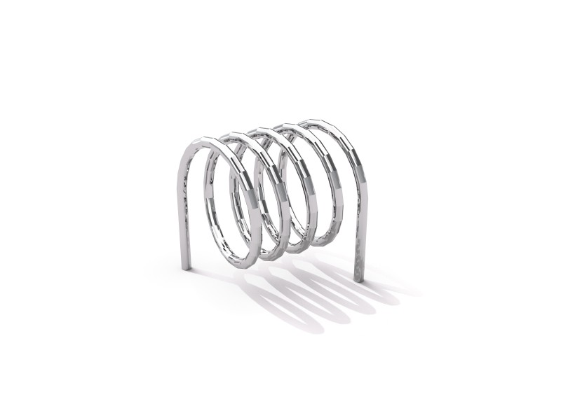 Steel bicycle rack 10
