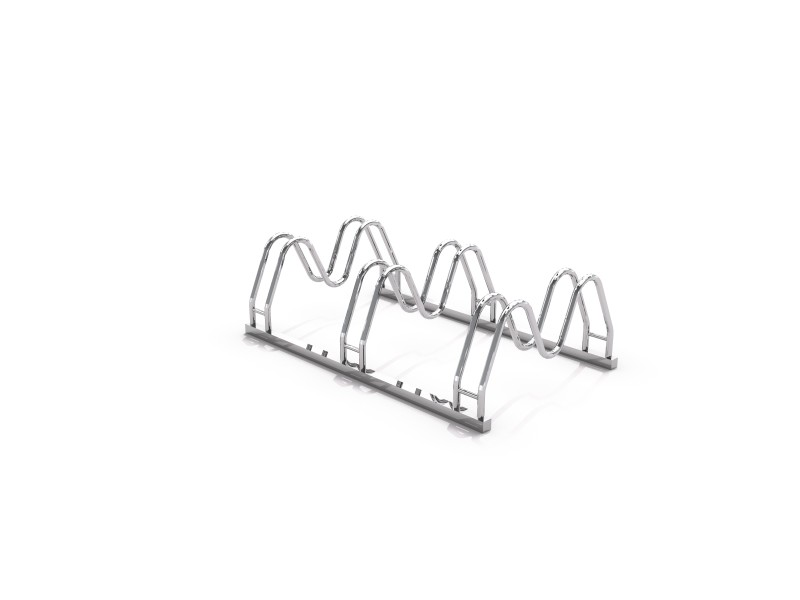Steel bicycle rack 16