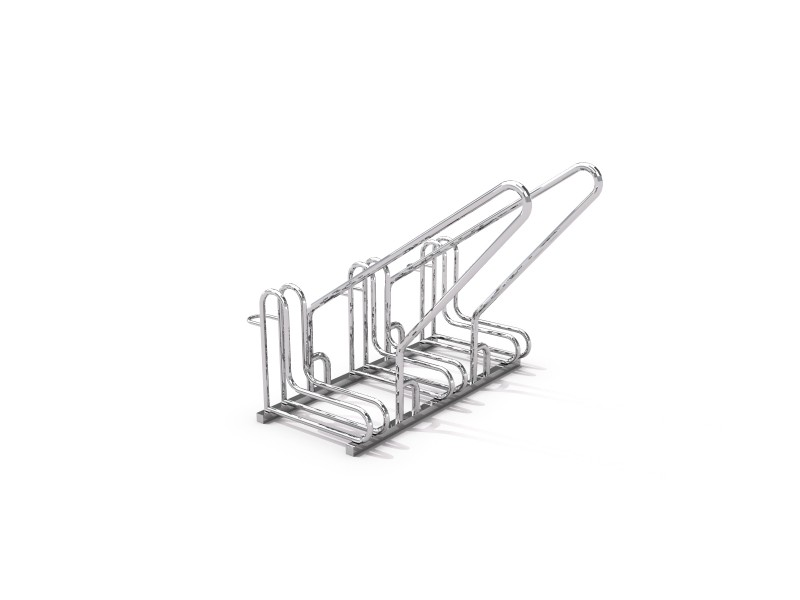Steel bicycle rack 15