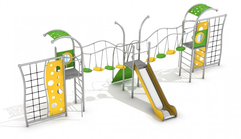 Playground Equipment for sale DOMO 3-1 Professional manufacturer