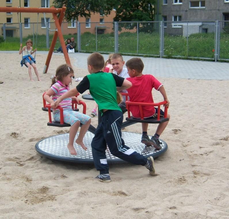 Playground roundabout Inter Play Blog