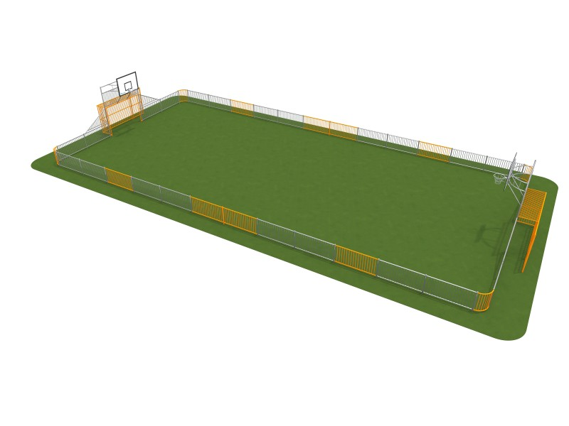 Playground Equipment for sale ARENA 2 (25x12m) Professional manufacturer