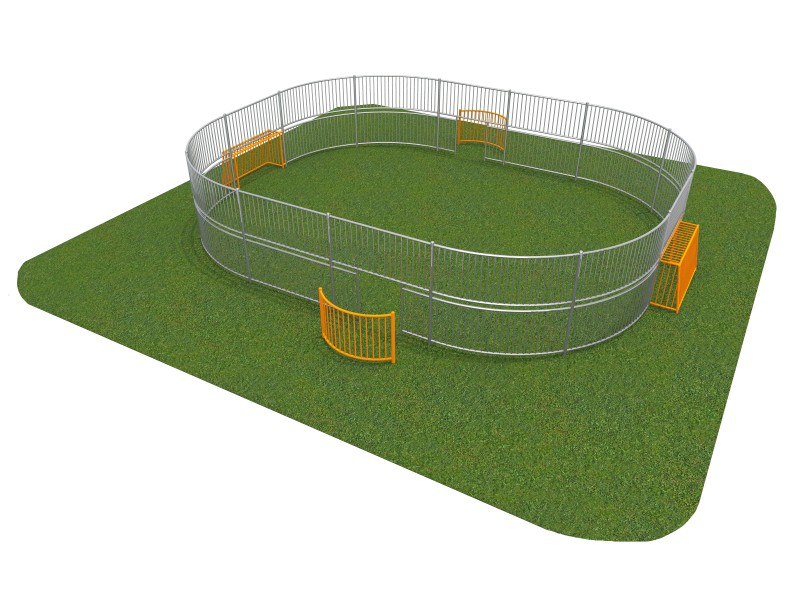 SOCCER RING 3 (10x8m) Inter Play Playground