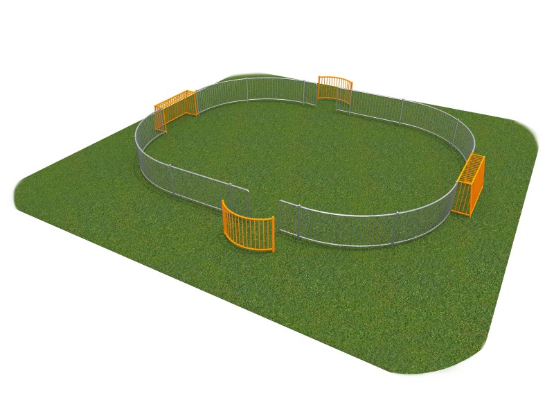 Playground Equipment for sale SOCCER RING 3 (10x8m) Professional manufacturer