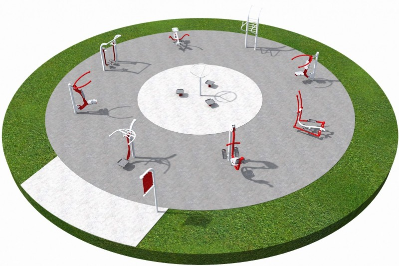 FITNESS 1 PLAYGROUNDS