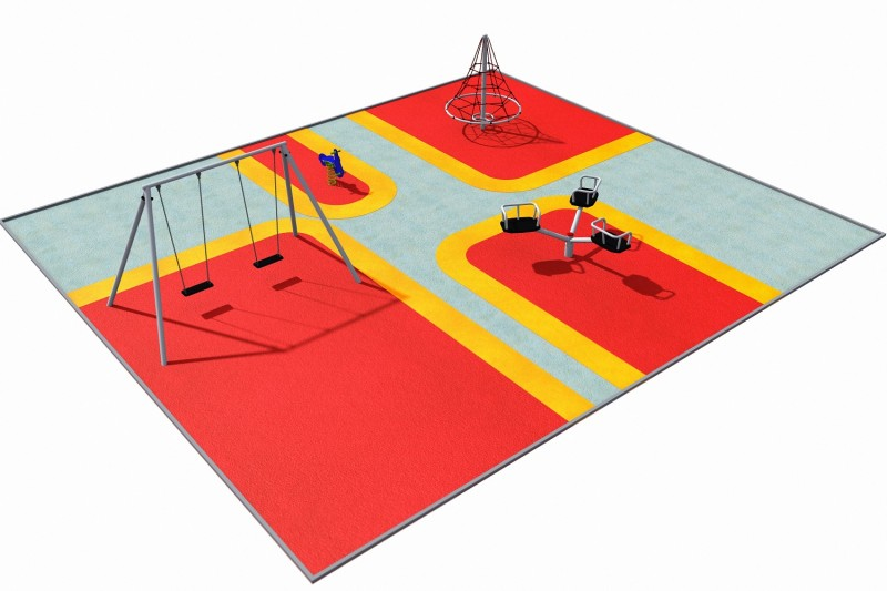 Playground Equipment for sale PARK layout 1 Professional manufacturer