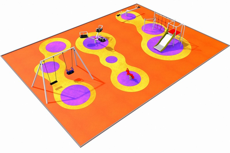 Playground Equipment for sale PARK layout 3 Professional manufacturer