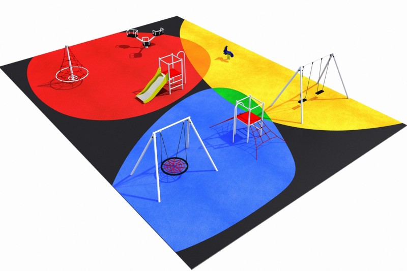 Playground Equipment for sale PARK layout 5 Professional manufacturer