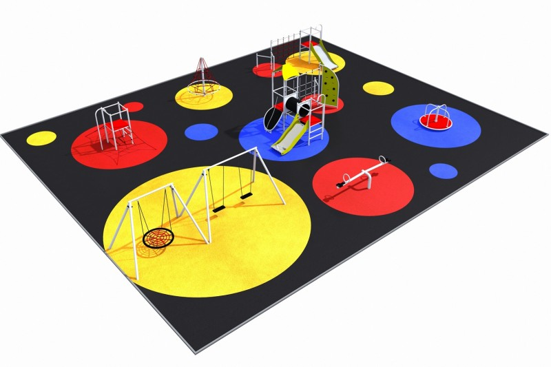 Playground Equipment for sale PARK layout 8 Professional manufacturer