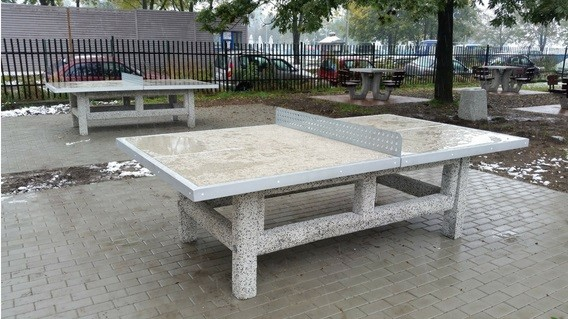 Concrete tennis table Inter Play Playground