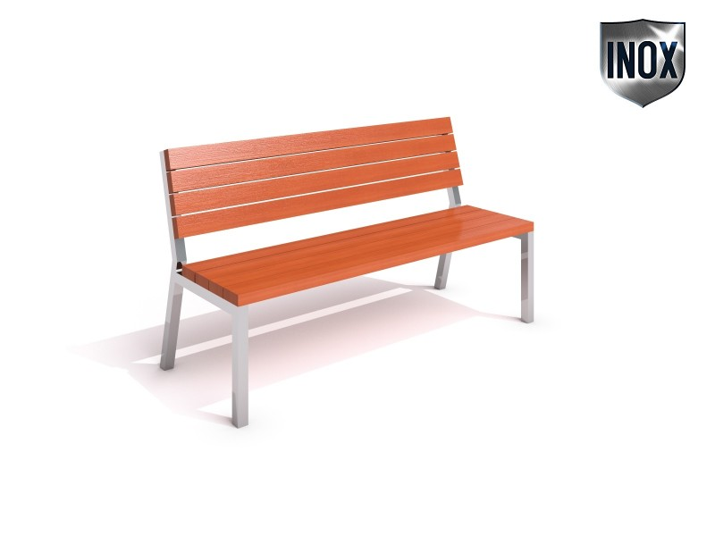 Stainless steel bench 01