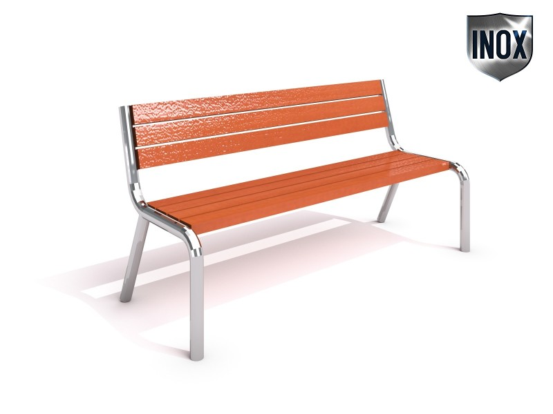 Stainless steel bench 02