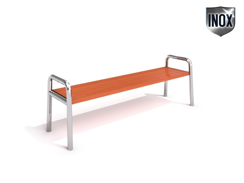 Stainless steel bench 03