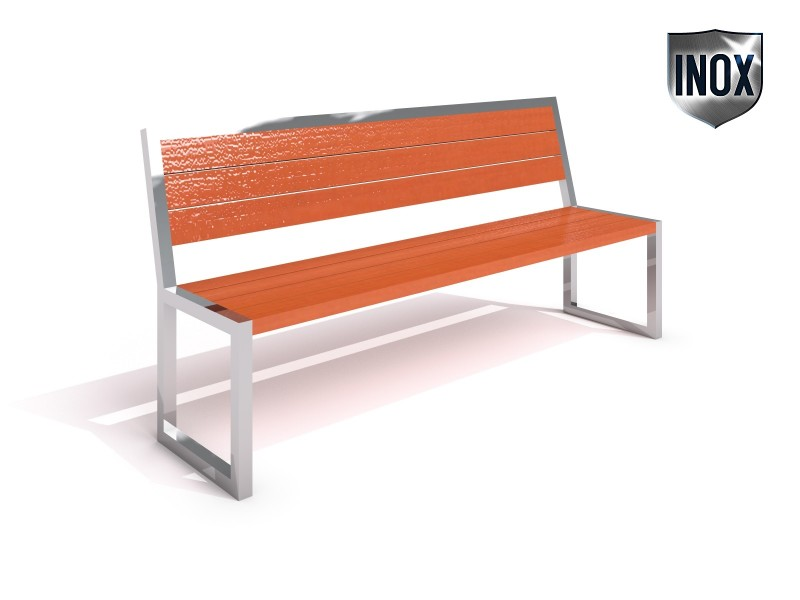 Playground Equipment for sale Stainless steel bench 03 Professional manufacturer